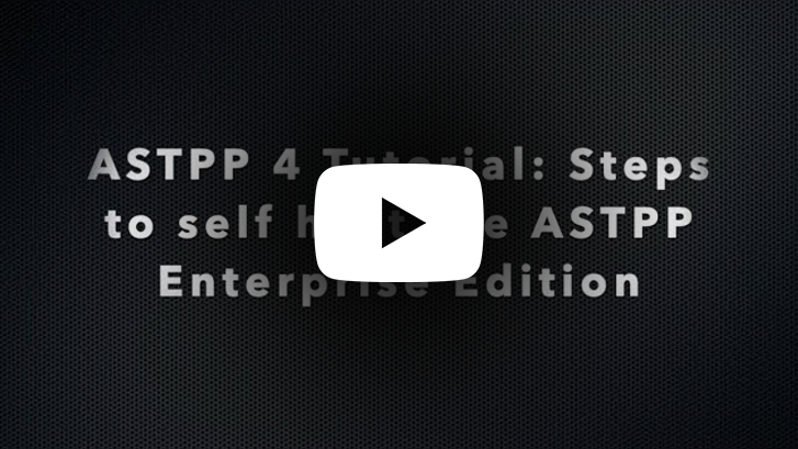 Steps to self host the ASTPP Enterprise Edition